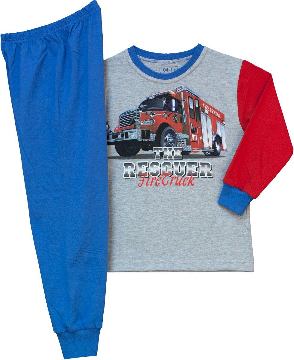 Fiú 2r. pizsama tűzoltós 92-110 – GYERMEKRUHASHOP b2bf12d474