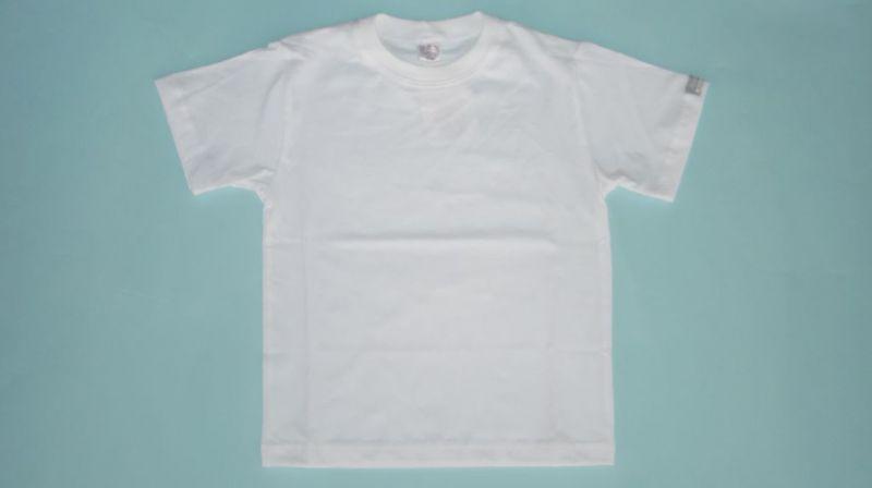 4d6d5d9465 Gyerek fehér póló 92-L BIOpamut – GYERMEKRUHASHOP