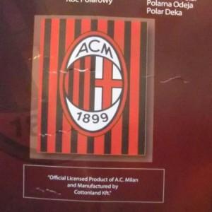 Polár takaró AC Milán