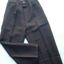 Fiú alkalmi nadrág fekete 110-164