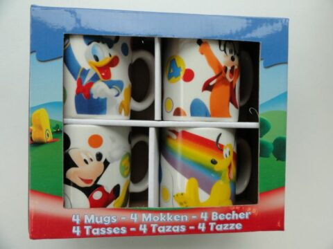 Disney 4 db-bögre Mickey