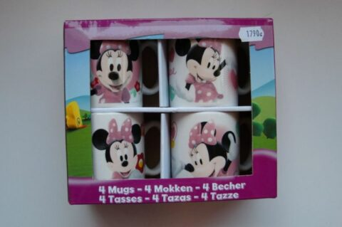 Disney 4 db-bögre Minnie