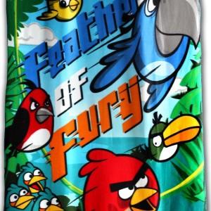 Angry Birds 1 polár takaró 120X140