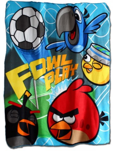 Angry Birds 3 polár takaró 120X140