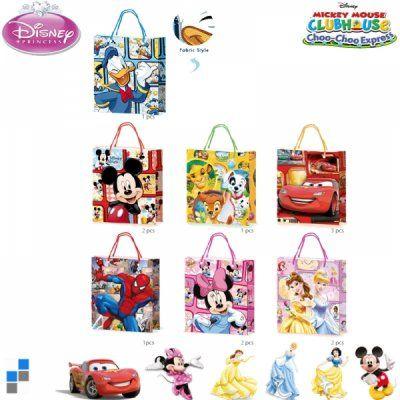 Disney ajándék táska 29X35cm