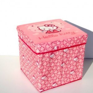 Helló Kitty tároló doboz 30X30