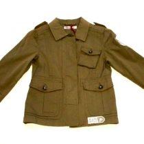 Lány keki átmeneti kabát Manai 110-164 96de0743fa