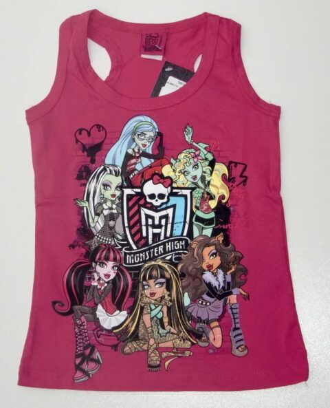 lány trikó Monster rózsa 116-152