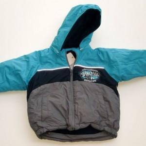 Fiú téli kabát  szürke86-128