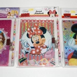 Disney mintás titoknapló