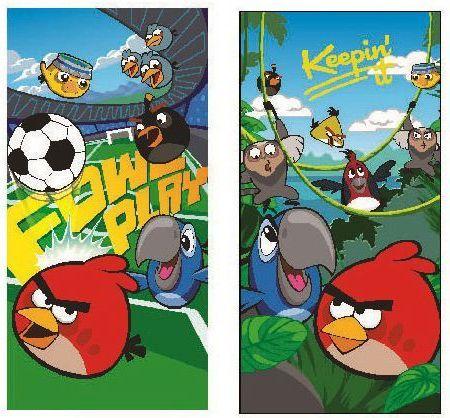 Angry Birds törölköző 2szín +