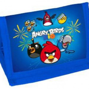 Angry Birds pénztárca kék