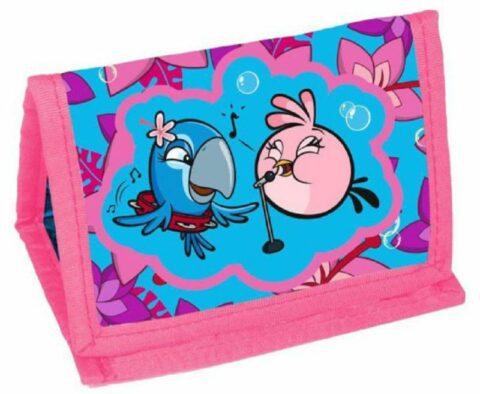 Angry Birds pénztárca rózsaszín