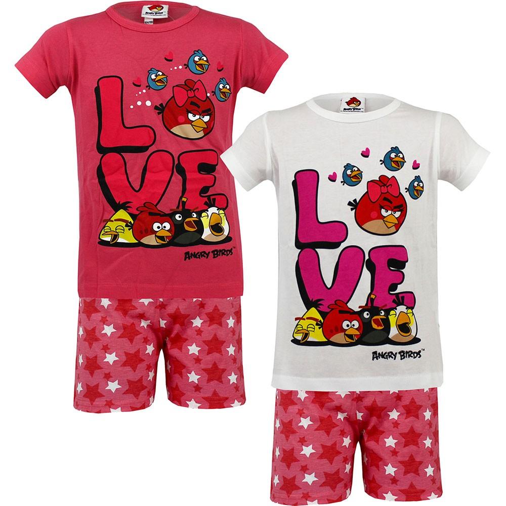 Lány rövid pizsama Angry Birds 104-134 – GYERMEKRUHASHOP 92d57146a4
