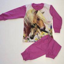 Lány 2 r. lovas pizsama 92-98 25e9887e30