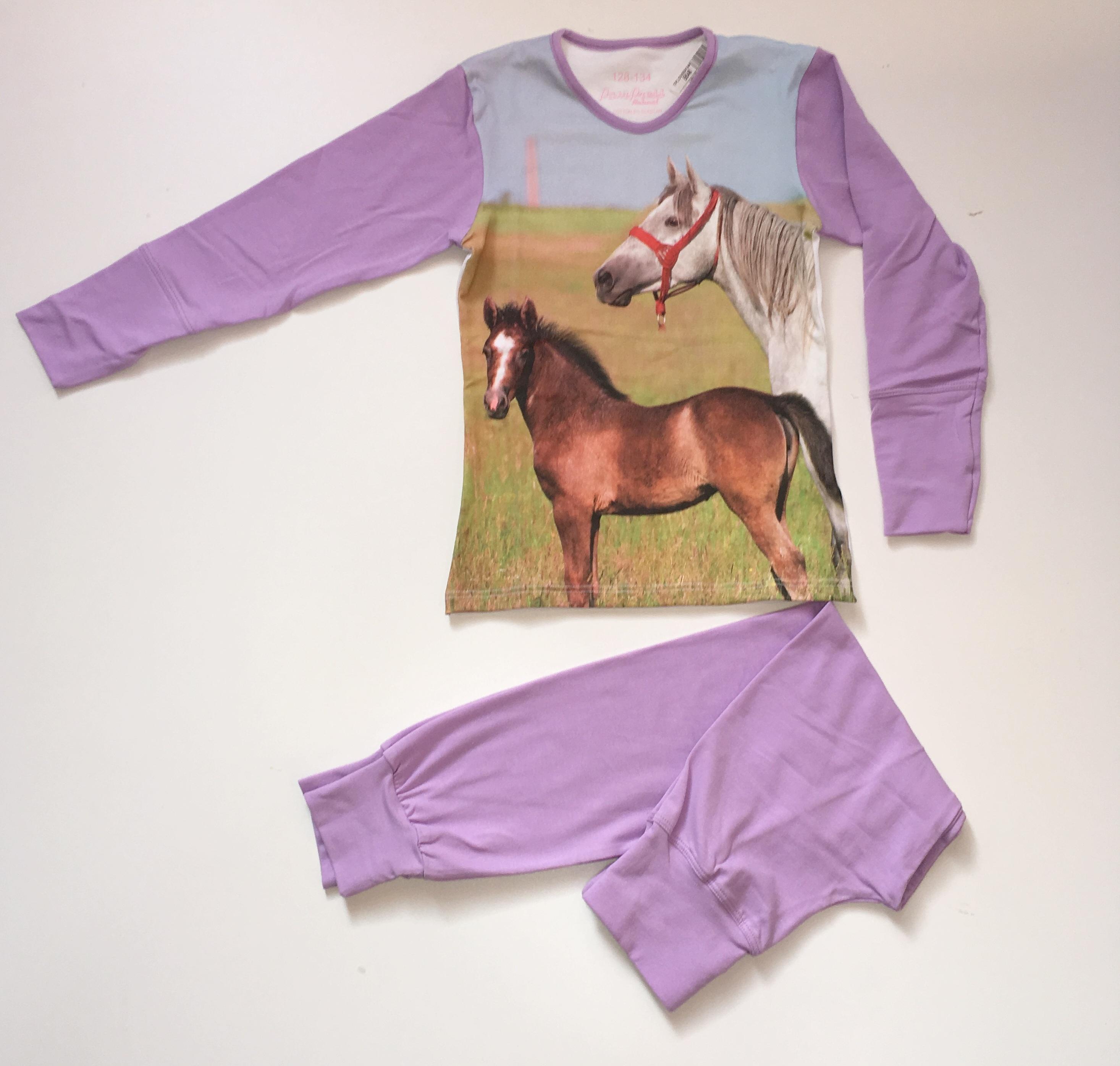 Lány pizsama lovas 152-158 – GYERMEKRUHASHOP 161bd27ce3