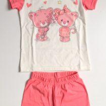 Lány 2r. pizsama cicás 92-110 c6f5dbbe18