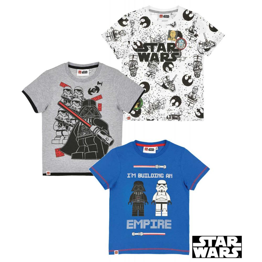 Fiú r.u. póló Lego Star Wars 104 – GYERMEKRUHASHOP 7061e936bf