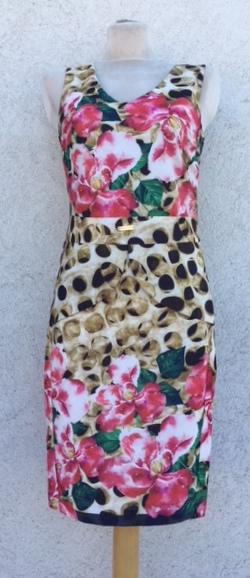 7f32a7f045 Mystic day női ruha virágos S – GYERMEKRUHASHOP