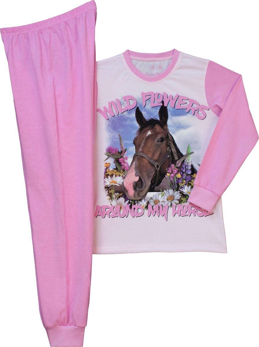 Lány pizsama rózsa lovas 152-170 – GYERMEKRUHASHOP 5a2b901c19