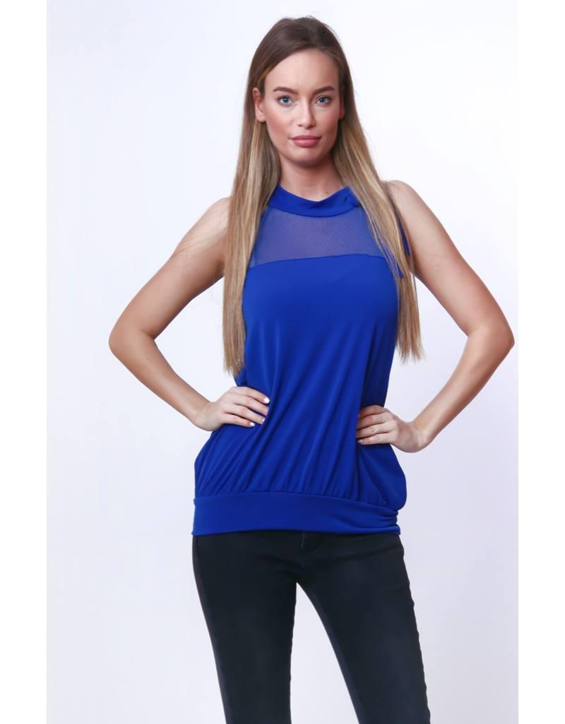 3697cbd316 Victoria Moda női felső ujjatlan kék – GYERMEKRUHASHOP