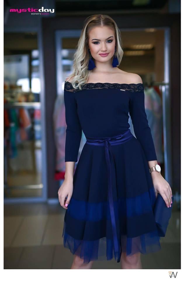 a188b8236b Mystic day női ruha kék S-L – GYERMEKRUHASHOP